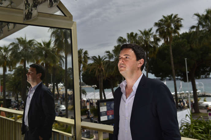 Thomas Piketty à Cannes le 13 mai 2016.
