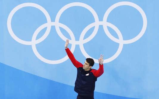 Michael Phelps, le 11 août à Rio.
