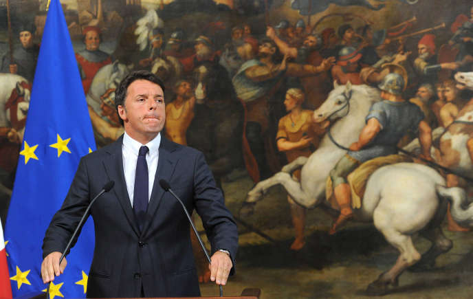 Le premier ministre italien, Matteo Renzi, le 24 juin, à Rome.