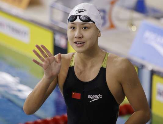 La nageuse chinoise Chen Xinyi.