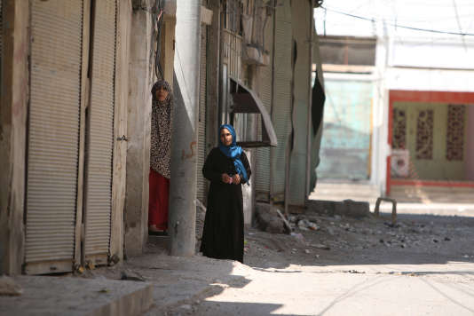Manbij, le 7 aoôut 2016.