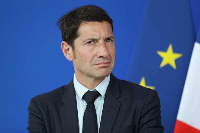 Le maire de Cannes, David Lisnard, le 9 mai 2016.
