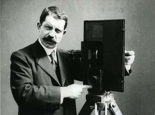 Léon Gaumont, vers 1905.
