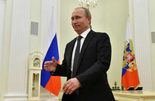 Vladimir Poutine est accusé d'avoir voulu influencer la campagne présidentielle américaine.