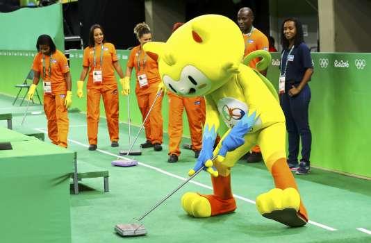 Vinicius a fait le ménage partout pendant ces Jeux. Il a juste oublié de s'occuper des eaux de la baie de Rio.