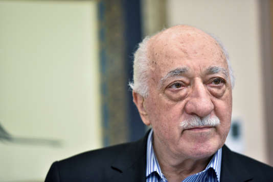 Fethullah Gülen dans sa maison en Pennsylvanie, le 29 juillet.