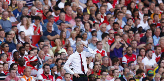 Arsène Wenger en août 2016 à Londres.