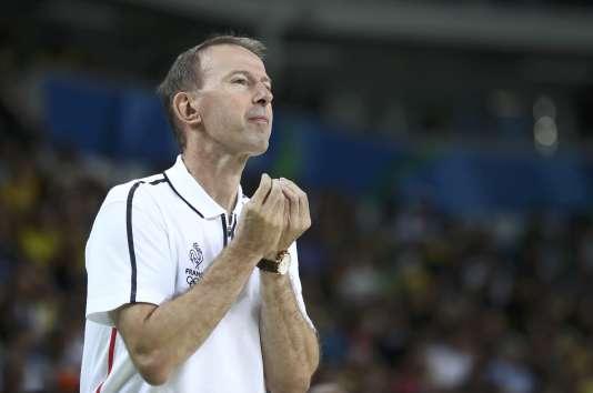 Vincent Collet n'a pas trop envie d'affronter l'Espagne en quart de finale.