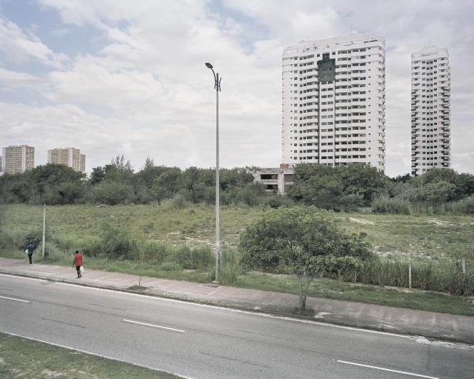 L'avenue des Amériques, paysage urbain typique de Barra da Tijuca.