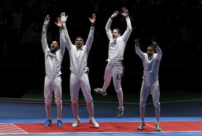 Les épéistes français avaient remporté la médaille d'or par équipes aux Jeux olympiques de Rio en 2016. Aujourd'hui, les« Invincibles» sont à la peine.