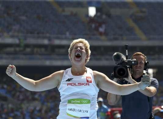 Anita Wlodarczyk, le 15 août à Rio.