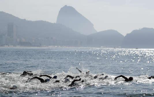 Aurélie Muller a été disqualifiée de sa course de 10 km en eau libre.