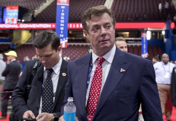 Paul Manafort, lors de la convention du parti républicain à Cleveland (Ohio), en juillet.