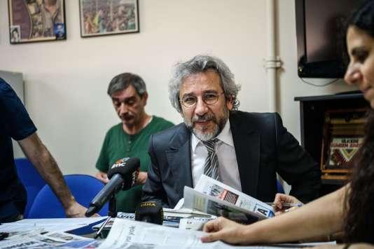 Le journaliste turc Can Dündar, le 21 juin 2016.