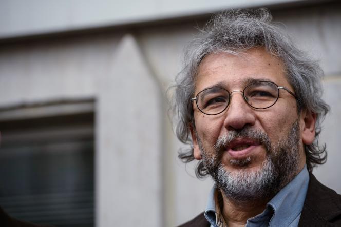 Can Dündar, rédacteur en chef du quotidien d'opposition«Cumhuriyet», le 26 février.