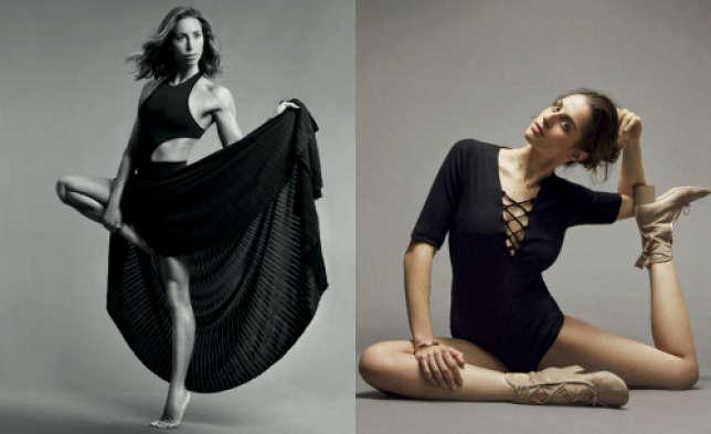 L'athlèteGemma Mengual, qui pratique la natation synchronisée, et la gymnaste Carolina Rodríguez dans les pages du «Harper's Bazaar» espagnol.