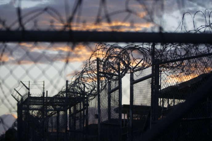 La prison américaine de Guantanamo (Cuba), en 2013.