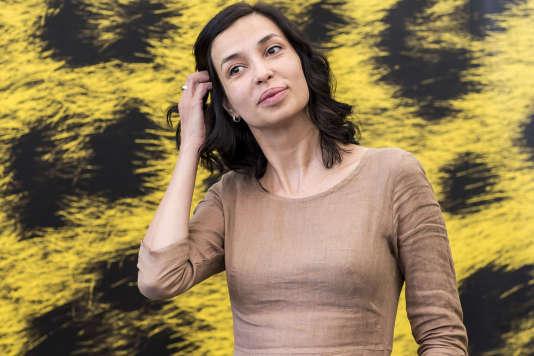 La réalisatrice Ralitza Petrova lors de la projection de son film « Godless» au 69e Festival du film de Locarno, le 11 août 2016.
