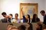 Vente aux enchères chez Sotheby's à Paris, en juin 2013.