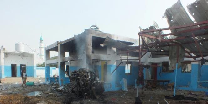 Des raids menés par l'aviation de la coalition arabe alliée du pouvoir au Yémen ont touché un hôpital soutenu par MSF à Abs, dans la province de Hajjah.