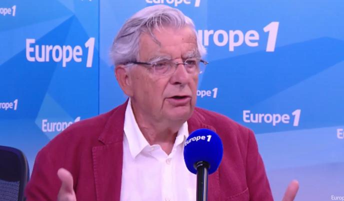 Jean-Pierre Chevènement sur Europe 1, mardi 16 août.