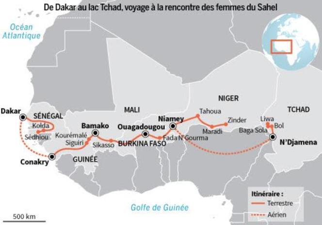 Deux mois et 4 000 km de route le long de ce « combat pour la vie »: la santé maternelle et infantile en Afrique de l'Ouest.