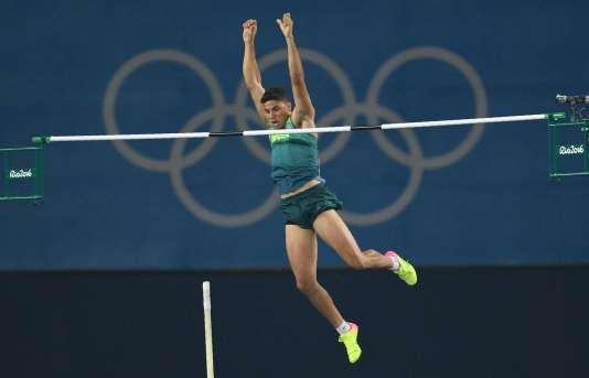 Thiago Braz da Silva est le nouveau champion olympique de la perche.