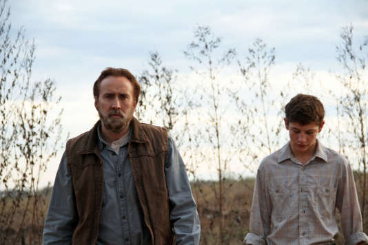 Nicolas Cage (Joe) et Tye Sheridan (Garry) dans le film « Joe », de David Gordon Green.