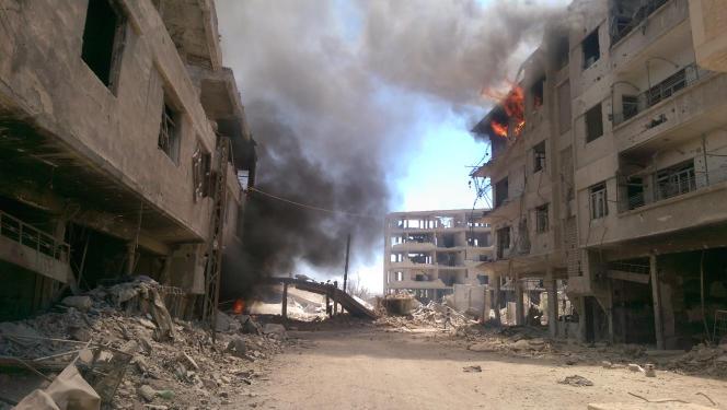 Daraya, le 16 août.