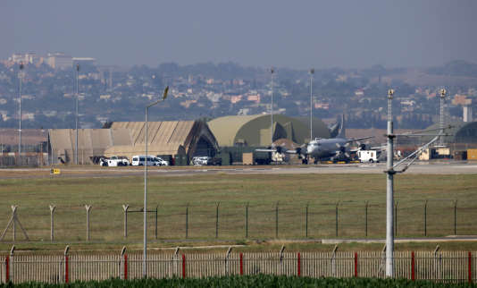 La base d'Incirlik, en Turquie, le 28 juillet 2015. AFP PHOTO / STR