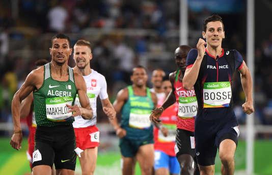 Pierre-Ambroise Bosse, quatrième du 800 m le 13 août à Rio.