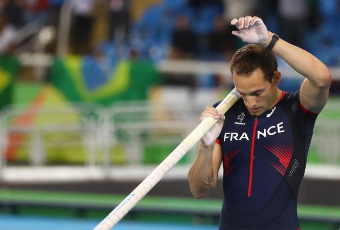 A Rio en 2016, Renaud Lavillenie avait remporté la médaille d'argent au saut à la perche.