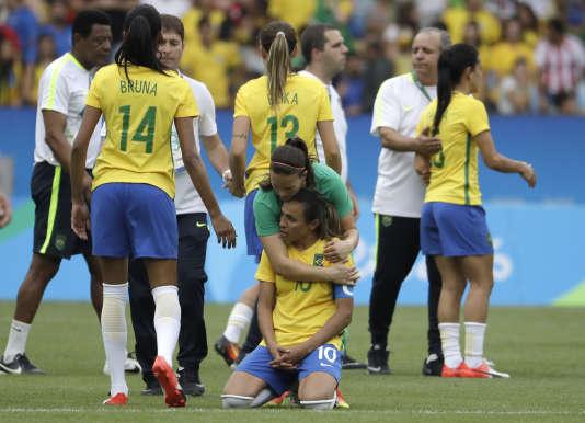 Le Brésil de Marta est à genoux.