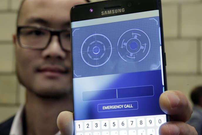 Un scanner d'iris est présent sur le nouveau Galaxuy Note 7.