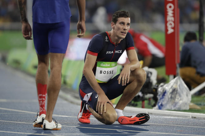 Pierre-Ambroise Bosse, quatrième du 800 mètres aux Jeux de Rio, le 15 août 2016.«Je n'ai aucun regret», a-t-il annoncé à l'issue de la course.