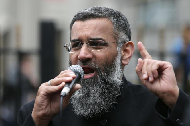Anjem Choudary, le 3 avril 2015. AP Photo/Tim Ireland
