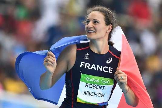 Melina Robert-Michon le 16 août à Rio.