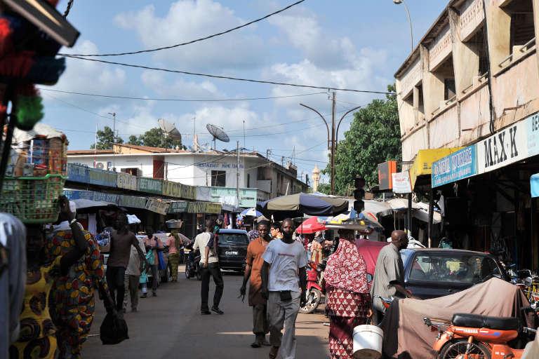 Dans le centre-ville de Bamako.