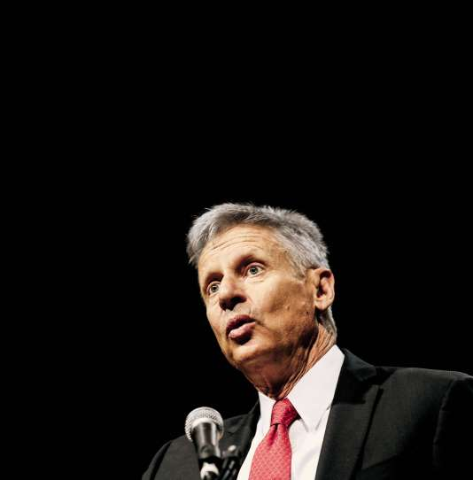 Pour participer aux débats présidentiels de l'automne, il faut obtenir 15 % dans cinq sondages nationaux, et Gary Johnson n'en est pas loin…