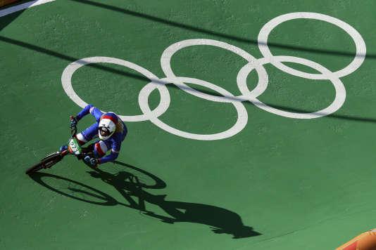 Manon Valentino n'a pas réussi à sauver le bilan français en BMX.