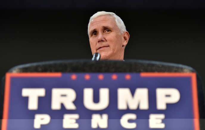 Le candidat républicain à la vice-présidence, Mike Pence, dans le Nevada, le 17 août 2016.