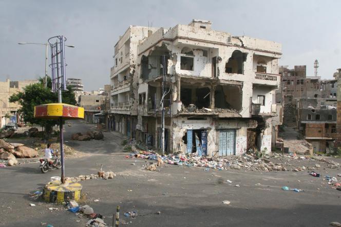 A Taïz, au Yémen, le 17 août.