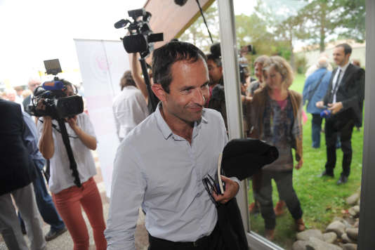 Benoît Hamon à l'été 2015.