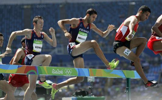 Mahiedine Mekhissi a terminé quatrième de la finale du 3000 m steeple mercredi à Rio.