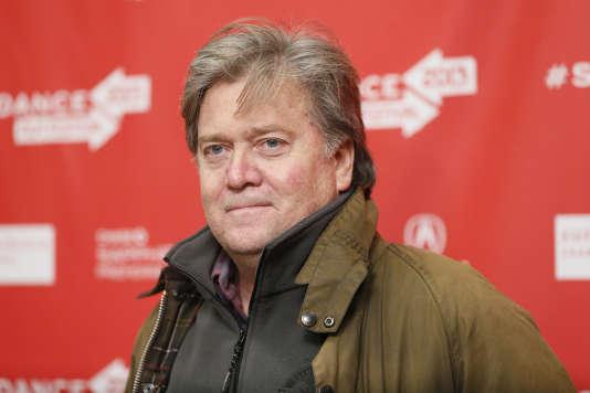 Donald Trump a recruté Steve Bannon, de Breitbart News, unsite d'information très à droite. Ici, en janvier 2013.