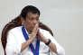 Le président philippin Rodrigo Duterte, le 17 août à Manille.