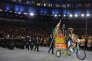 Délégation indienne lors de la cérémonie d'ouverture des Jeux Olympiques, Rio de Janeiro, 5 août 2016