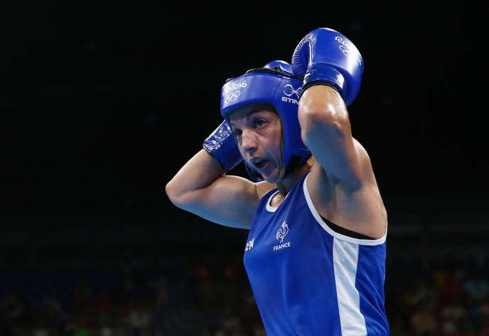 Sarah Ourahmoune est médaillée d'argent de la catégorie des - 51 kg.