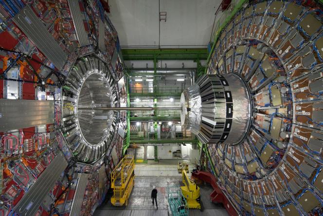 A l'intérieur du CERN.