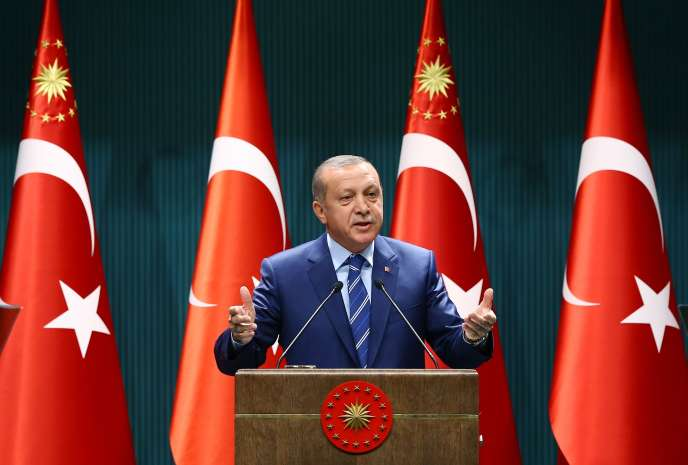 Recep Tayyip Erdogan le 18 août.